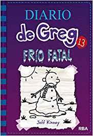 Libro más vendido en Amazon en 2018: Diario de Greg: frío fatal, de Jeff Kinney