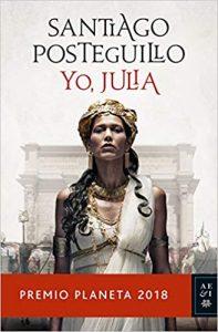 Libro más vendido en Amazon en 2018: Yo, Julia, de Santiago Posteguillo