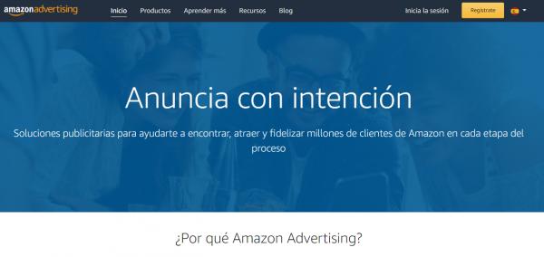 Publicidad de Amazon: Amazon Ads, anuncia con intención