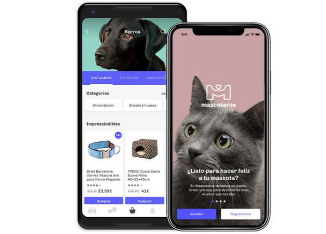 Aplicación de mascoteros, el marketplace de mascotas