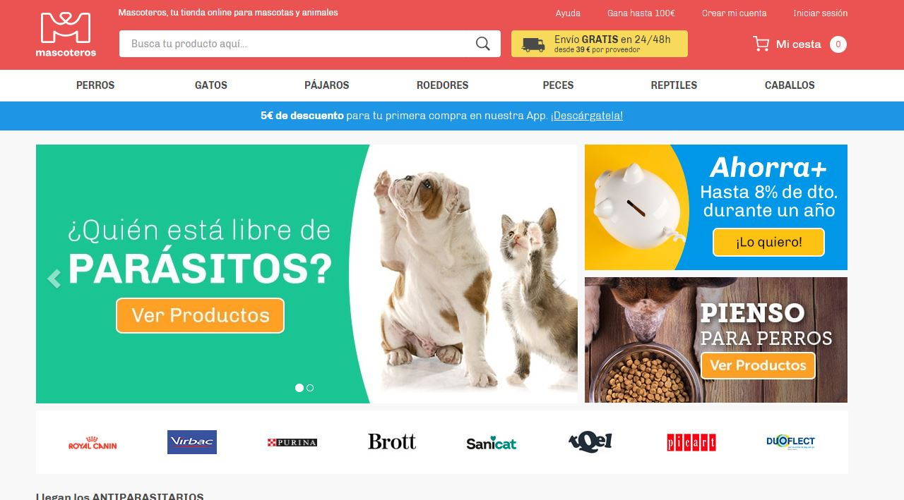 Mascoteros, el marketplace de mascotas