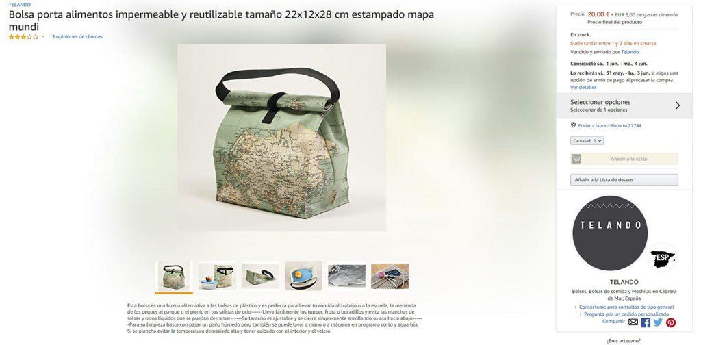 Vender en Amazon handmade