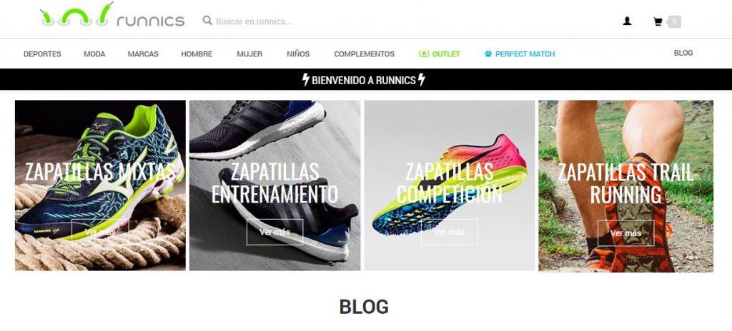 El marketplace de Runnics