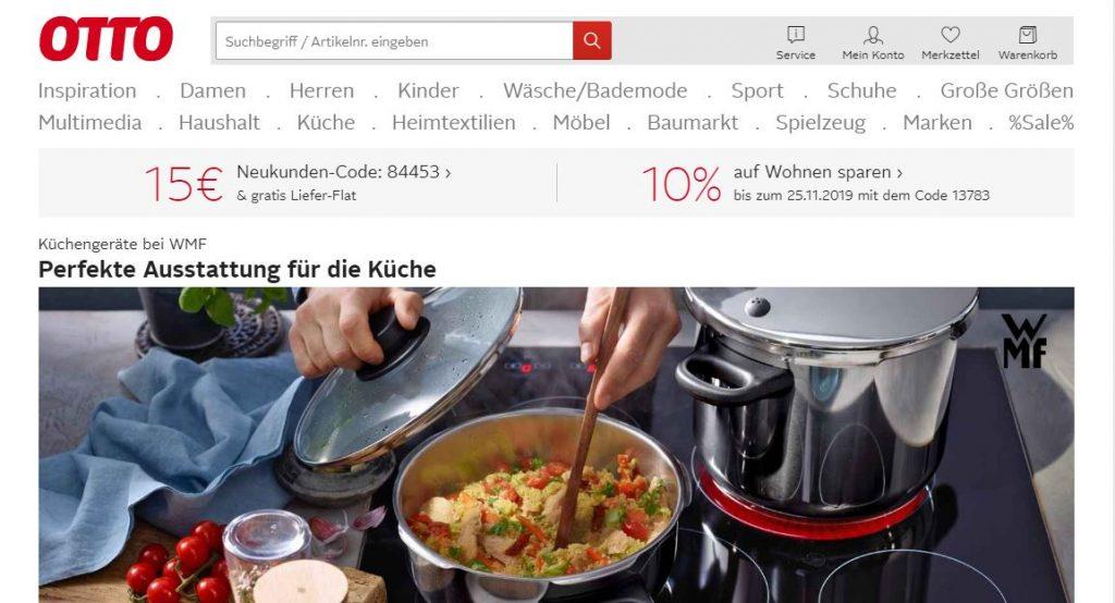 Marketplaces en Europa: Otto