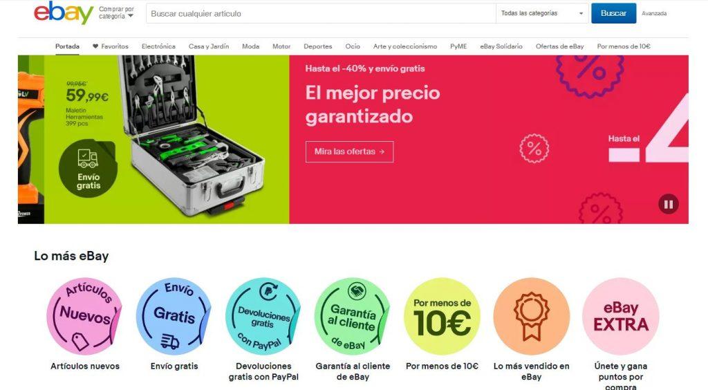 Marketplaces en Europa: eBay