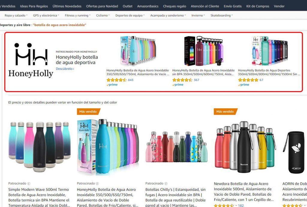 Sponsored Brands en Amazon
