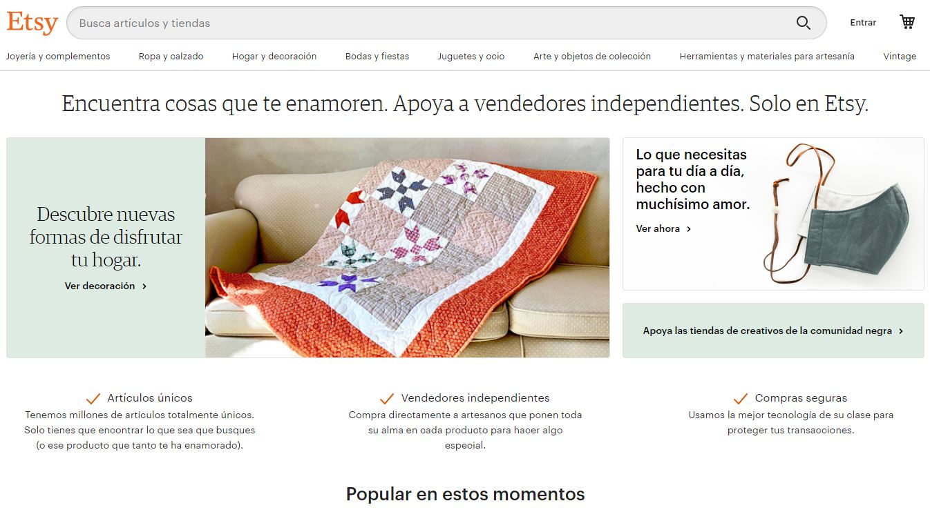 Marketplace de Etsy