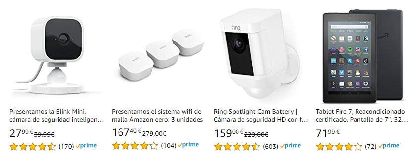 Ofertas anticipadas en dispositivos Amazon para el Prime Day